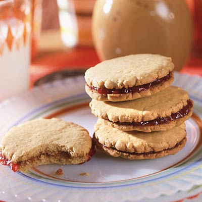Peanut Butter-and-Jelly Sandwich Cookies - Cookie Recipes that are ...