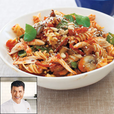 Michael Chiarello's Fusilli Michelangelo With Roasted Chicken - Star ...