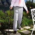 cane-walking