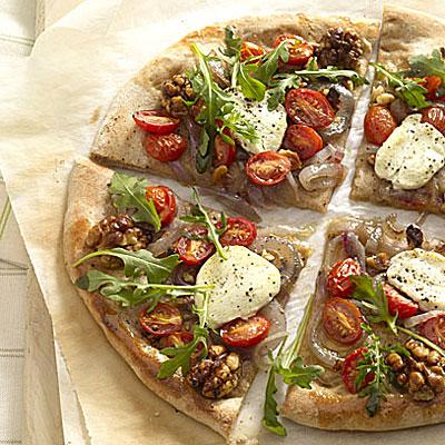 Arugula and Goat Cheese Pizza - Easy Pizza Recipes - Health.com