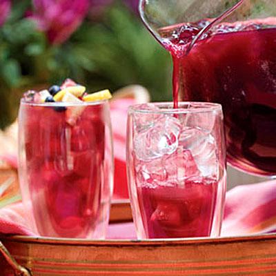 Blueberry-Lemon Iced Tea - healthy iced tea recipes - Health.com
