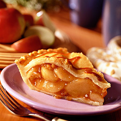 just for you: Caramel Apple Pie