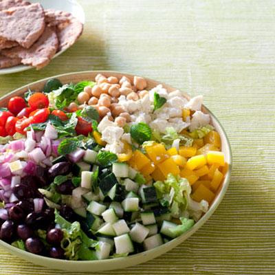 Chopped Greek Salad - Healthy Lunch Recipes - Health.com