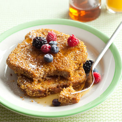 cornflake french toast hl 1973716 400x400 Meatless Monday Recipe: Cornflake Crunch French Toast