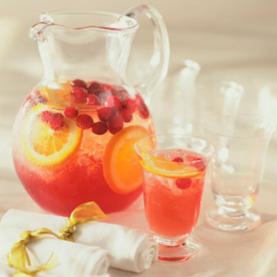 White Cranberry Citrus Punch - 12 Delicious Holiday Cocktails - Health ...