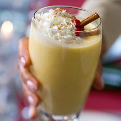 Eggnog - 50 Holiday Foods You Shouldn't Eat - Health.com