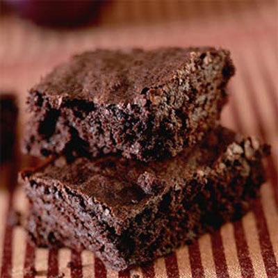 Fudgy Chocolate Brownies - 11 Healthy Super Bowl Snacks - Health.com