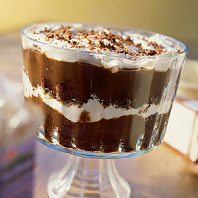 Mocha-Chocolate Trifle - Healthy Trifle Recipes - Health.com