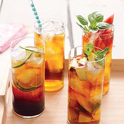 Peach and mint iced tea healthy iced tea recipes for Iced tea cocktail recipes