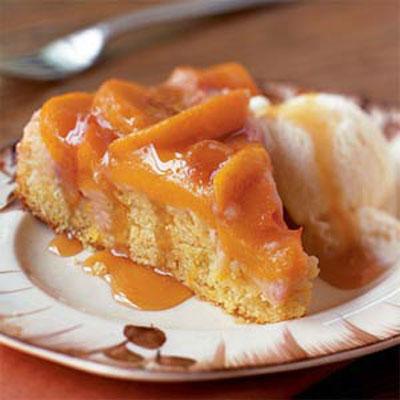 Peach Upside-Down Cake - Decadent Fruit Desserts - Health.com