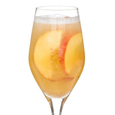 Peach Prosecco Recipe — Dishmaps