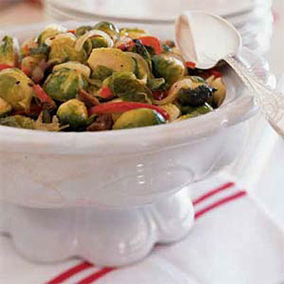 Roasted Brussels Sprouts With Chestnuts - 5 Fantastic Holiday Chestnut ...