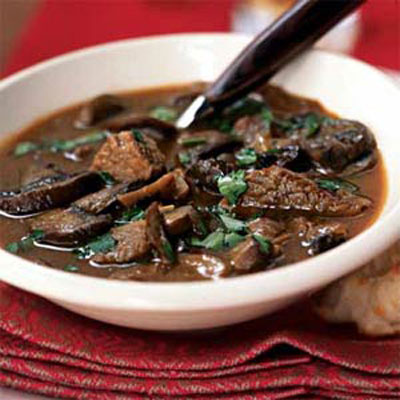 Wild Mushroom and Beef Stew - 8 Hearty Beef Stews - Health.com