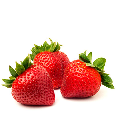 how to clean pesticides off strawberries