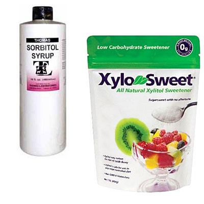 Sugar alcohols - 10 Artificial Sweeteners and Sugar ...