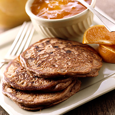 Whole-wheat pancakes and baked eggs - Feel Great Weight Diet Plan ...