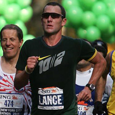 lance armstrong marathon 400 Should Lance Armstrongs Doping Affect His Cancer Charity?