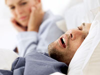 snoring sleep problem 200x150 Snoring, Sleep Problems May Signal Heart Risk
