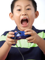 violent video game kid 150 Violent Video Games Linked to Aggression in Children, Teens