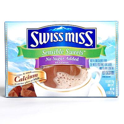 Swiss Miss Sugar Free Hot Chocolate Nutrition
