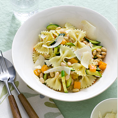 Meatless Monday Recipe: Farfalle With Zucchini and White ...