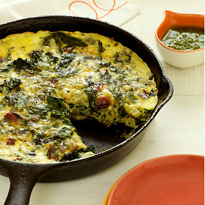 frittata with ricotta and mixed greens high protein. Black Bedroom Furniture Sets. Home Design Ideas