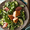 grapefruit-avocado-salmon-salad