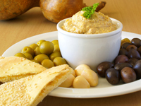 hummus appetizer holiday 200 Healthy, Easy HolidayAppetizers