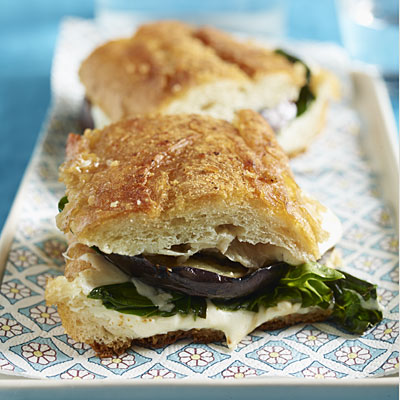 Pressed Sandwich with Roasted Eggplant - What Can You Make With a ...