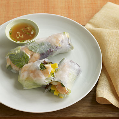 Spicy Thai Prawns With Mango Dipping Sauce Recipes — Dishmaps