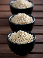 three brown rice 150 Brown Rice Finally Joins Whole Grain Club