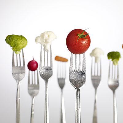 veggies-forks