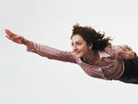 woman-flying