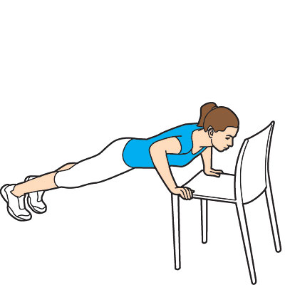 Chair Exercises Fitness Finder