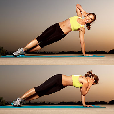 side plank crunch 1 400x400 Favorite Pins of the Week: Fitness Friday
