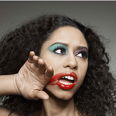 smudged-makeup-woman