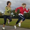 two-women-racing