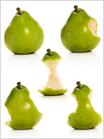 five-green-apples