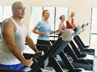 seniors-treadmills-exercise
