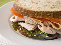 turkey-sandwich-healthy-food