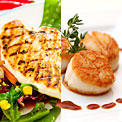 scallops-chicken