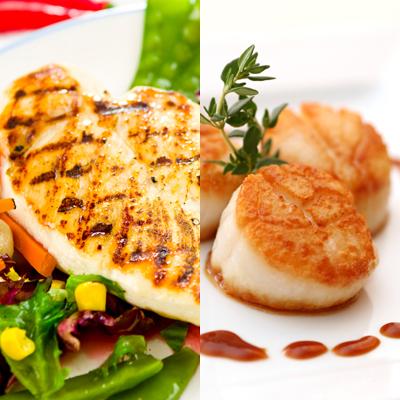 scallops-chicken