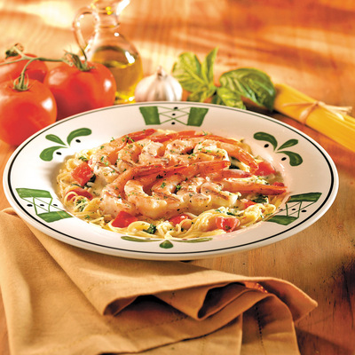 Olive Garden 39 S Grilled Shrimp Caprese 25 Fattening Foods You Should Never Eat