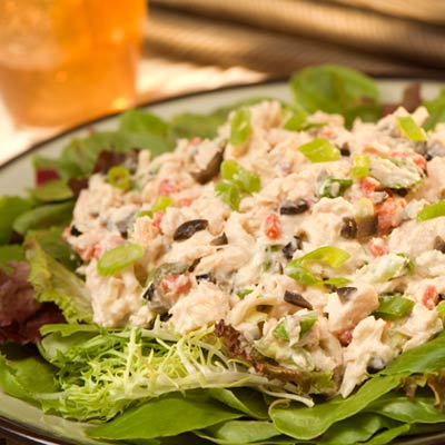 Mediterranean Tuna Salad - Mediterranean Diet Recipes - Health.com