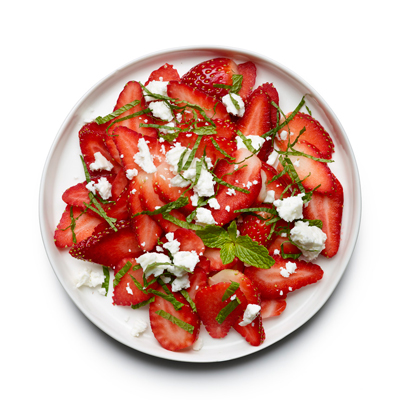 Strawberry Feta Salad - 8 Sweet and Salty Snacks Under 80 Calories ...