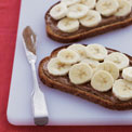 almond-banana-toast