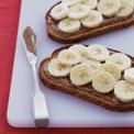 almond-banana-toast