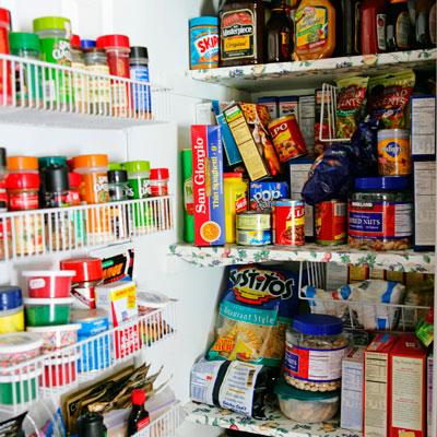 Food Pantry Organization Ideas