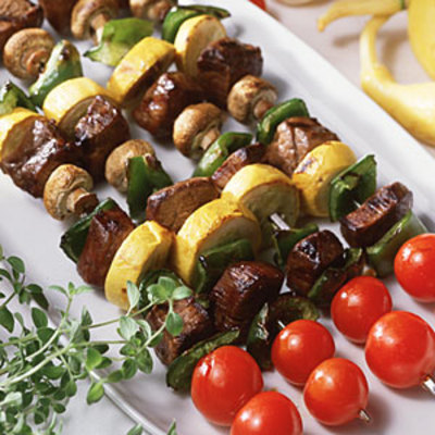 Beef Kebabs - 20 Tasty Diabetic-Friendly Recipes - Health.com