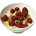 oatmeal-raspberries
